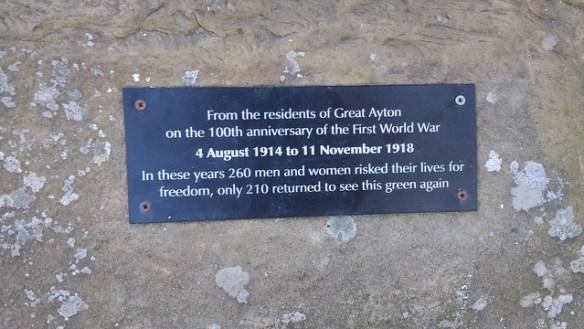 Wicker Soldier, Great Ayton
