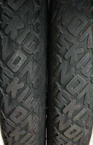the original non-skid tires