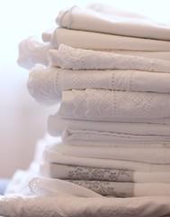 Whispery White linens