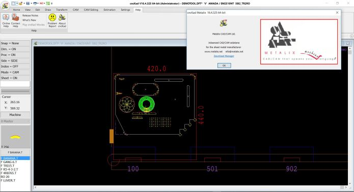 working with metalix cnckad v16 x86 x64 full license