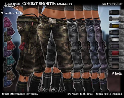 *League* Combat Shorts