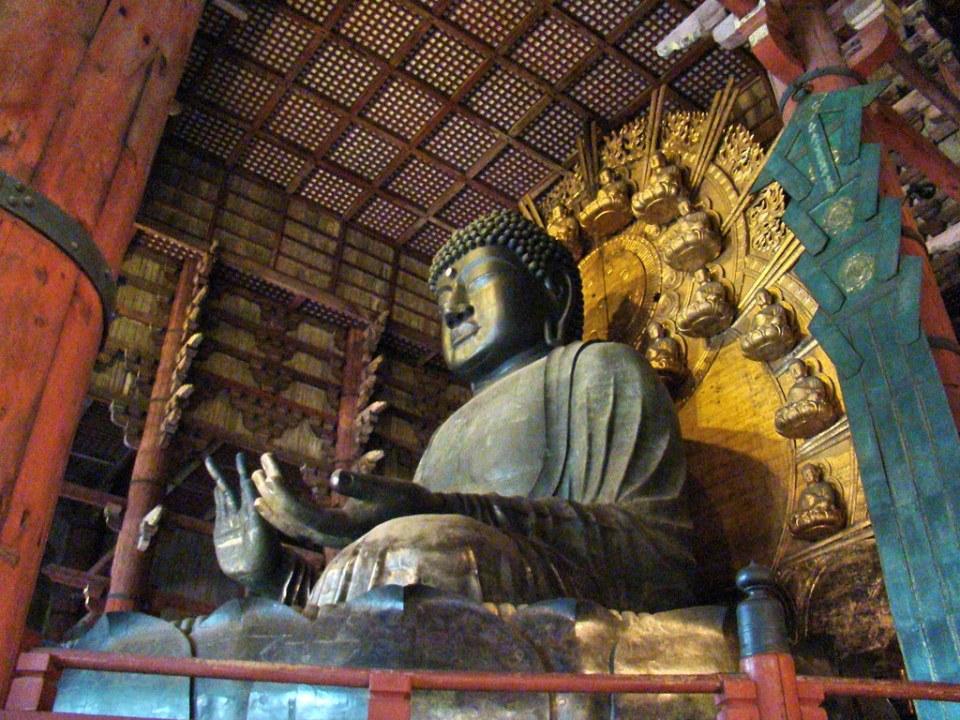 Japon estatua Buda Vairocana Templo Todai-ji Nara 25