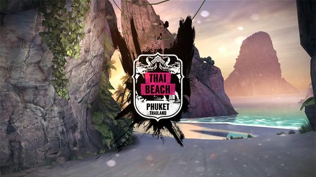 ฉากชายหาดของประเทศไทย คือ ภูเก็ต