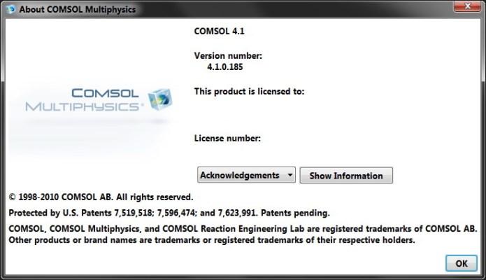 COMSOL Multiphysics 4.1.0.185 full license