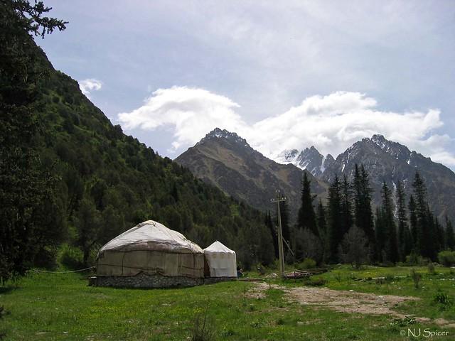 Al-Archa Canyon, Kyrgyzstan