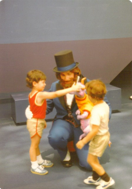 Matt & Jeff with Dreamfinder & Figment