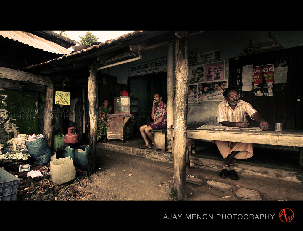 ajay menon india bakery kerala photograpy people watching