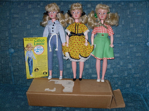 Elly May Clampett/Calico Lassie doll