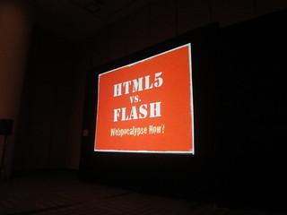 HTML 5 vs. Flash