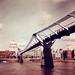 Milleninnium Footbridge, redscaled