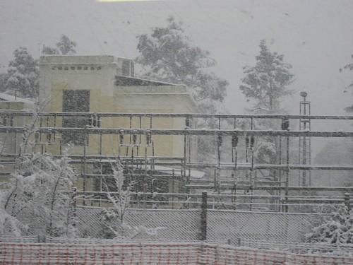 La nevada des dels FGC