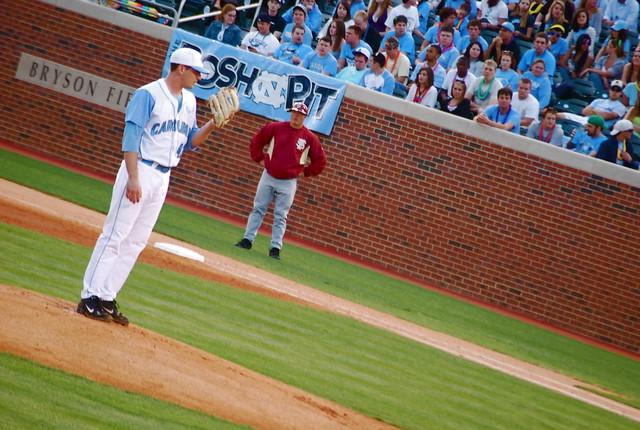 baseball: florida state @ unc, game one