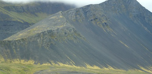 The imposing mountains of the Borgarfjörður by little_frank