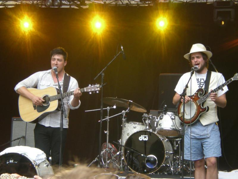 Mumford and Sons at Laneway Festival Sydney