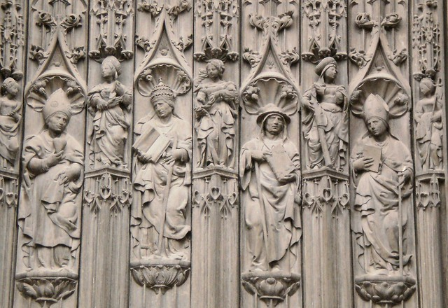 9 saints? - Beauvais Cathedral, France