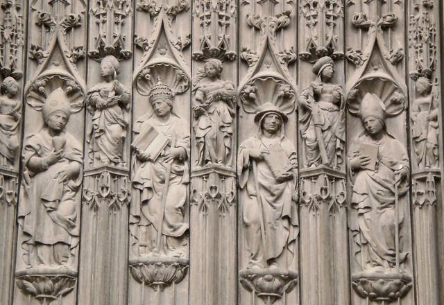 9 saints? - Beauvais Cathedral, France