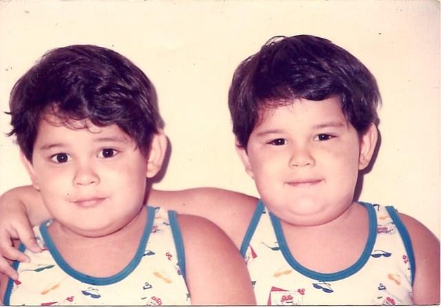 Found photo: Nestlé twins