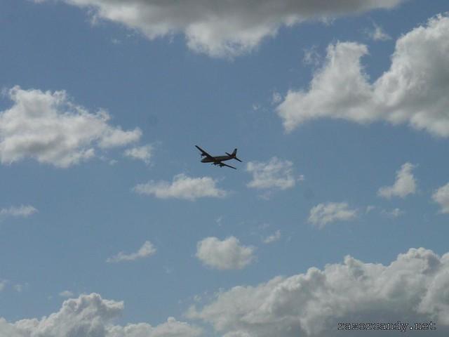 13 P1080585 British Eagle Douglas DC-6 {G-APSA} _ City Airport - 2008 (5th July)