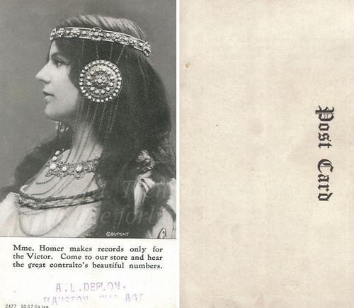 Louise Homer ~ postcard.
