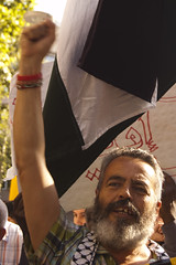 Manifestación Barcelona asalto a flotilla Palestina-46
