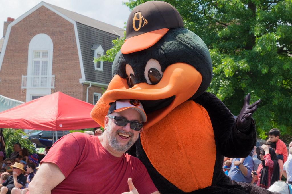 Glenn and the Bird
