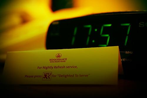17:57 hrs @ Renaissance
