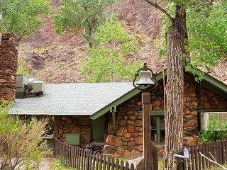 Dinner Bell at Phantom Ranch - Grand Canyon National Park