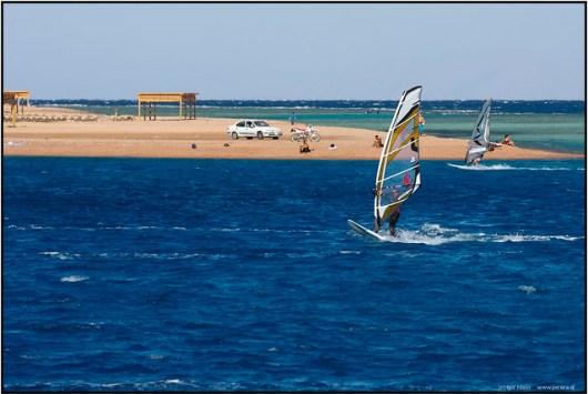 Windsurfing in Dahab