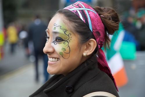More New Irish at St. Patrick's Day Parade, Dublin