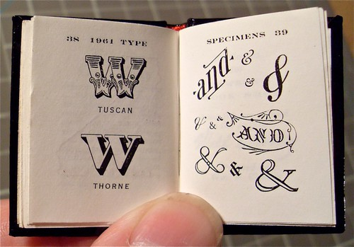 Miniature Book / Big Type Book / Will Cheney / 7