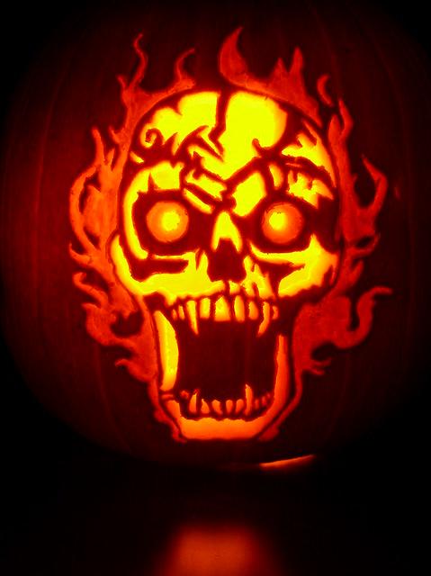 Carving Warcraft Pumpkin World Stencils