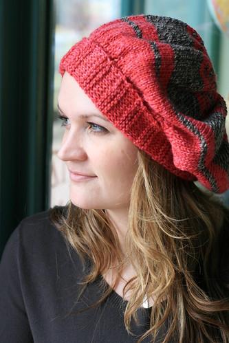 Ratatouille Knit Hat Pattern by Marly Bird