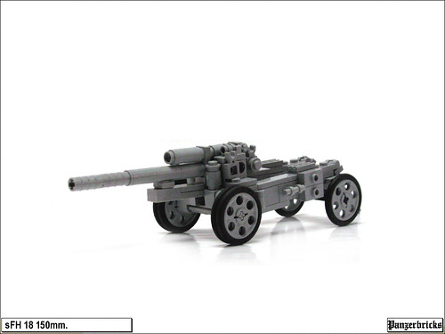 sFH 18 de 150mm. de Panzerbricks