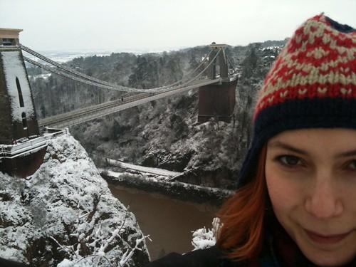 Me at the Suspension Bridge