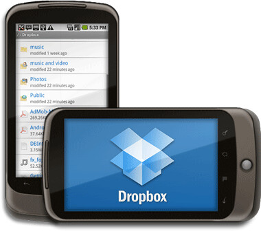 Dropbox en Android