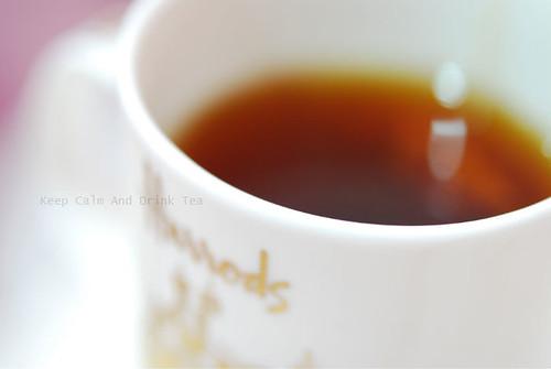 * Keep Calm And Drink Tea