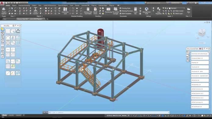 Design with Autodesk Advance Steel 2017 full