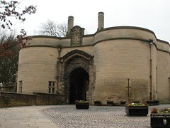 nottingham castle - main gate