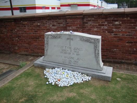 Bobby Jones Monument, Oakland Cemetery, Atlanta GA