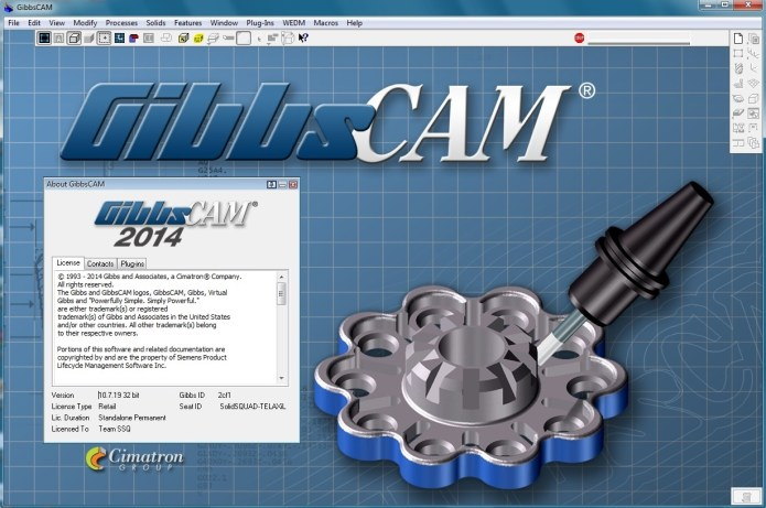 Machining with GibbsCAM 2014 Build 10.7.19.0 full license