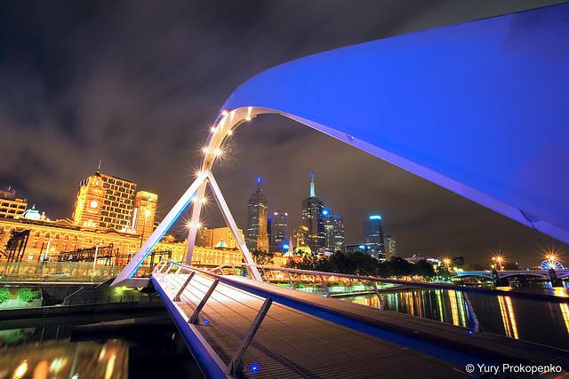Melbourne :: Southgate Footbridge