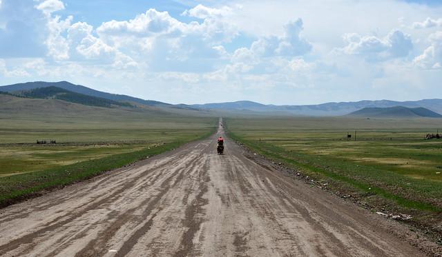Steppe riding