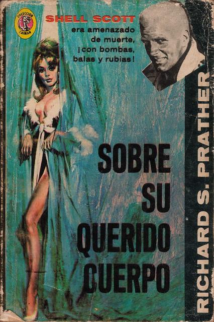 Sobre Su Querido Cuerpo Richard Prather vintage sleaze books
