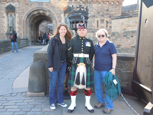 me & Kara w/ a guard