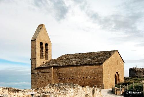 Iglesia de San Nicolás, en el despoblado de Rada