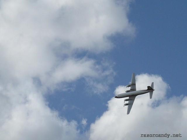 11 P1080582 British Eagle Douglas DC-6 {G-APSA} _ City Airport - 2008 (5th July)