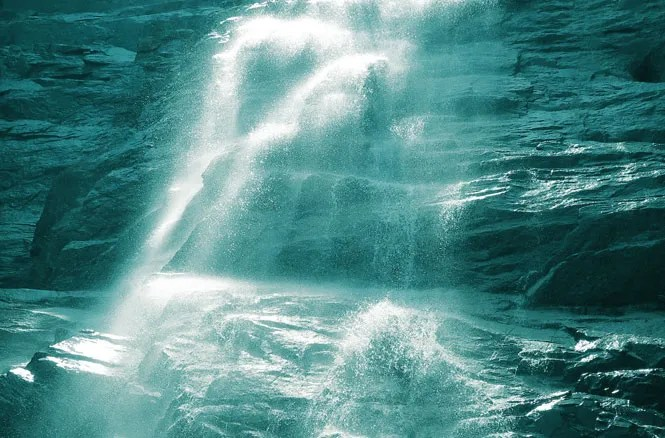 Arethusa Falls Monochrome