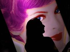 Woman's Silhouette - Beauty Bar NYC