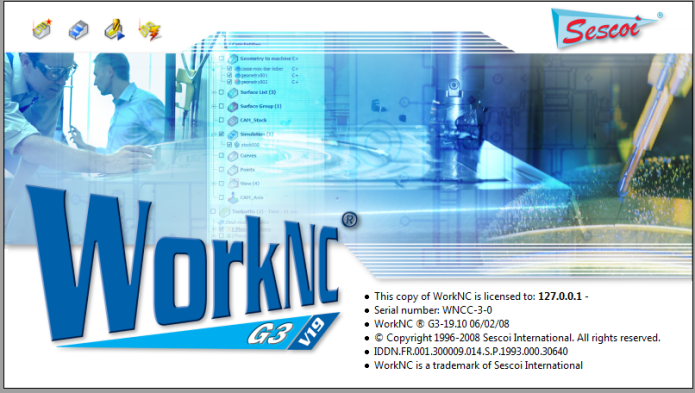 Sescoi WorkNC G3 19.10