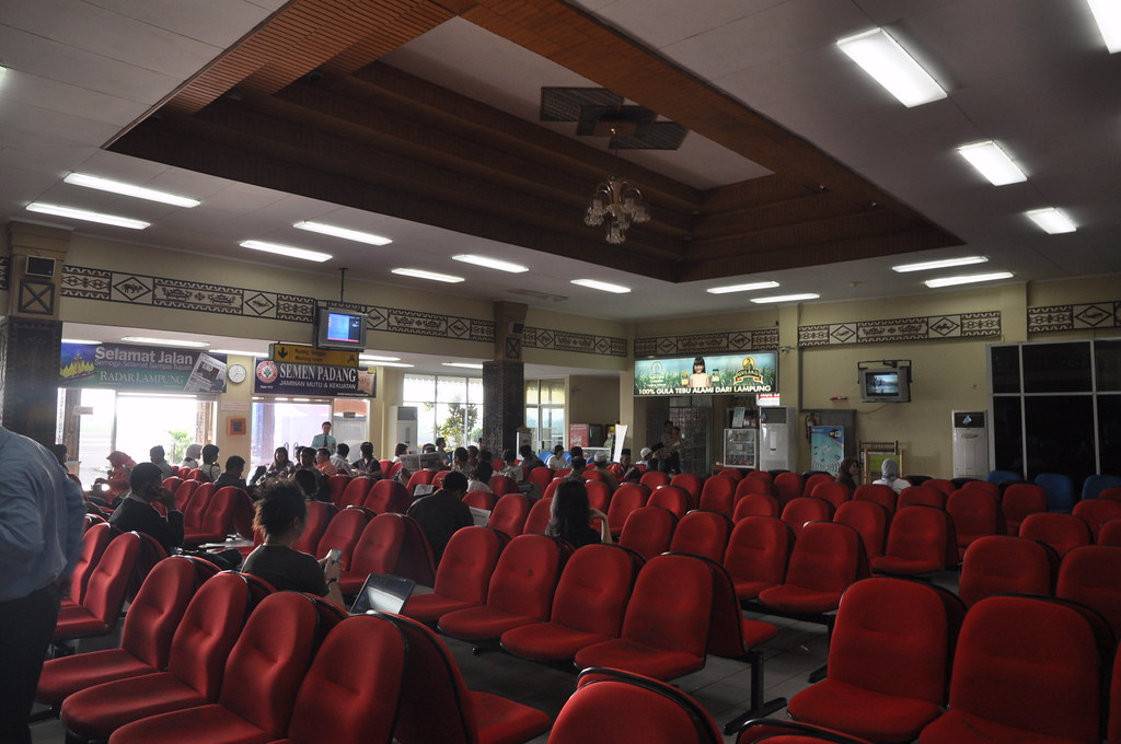 Main Passenger Holding Hall